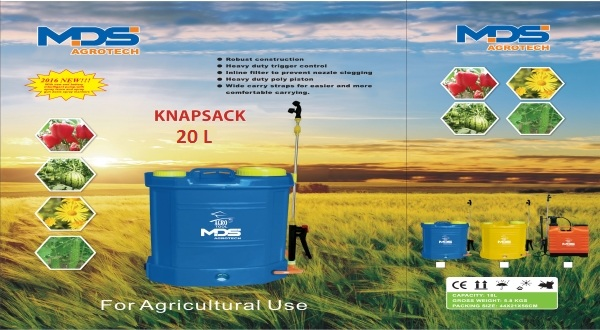 KNAPSACK 2 IN 1 SPRAYERS